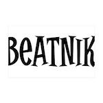 Beatnik 38.5 x 24.5 Wall Peel
