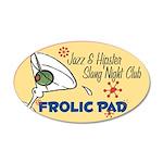Frolic Pad 38.5 x 24.5 Oval Wall Peel