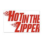 Hot in the Zipper 22x14 Wall Peel