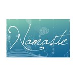 Namaste 35x21 Wall Decal