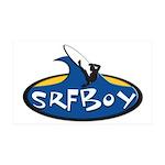 SRFBOY 38.5 x 24.5 Wall Peel