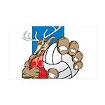 Bucks County Volleyball 38.5 x 24.5 Wall Peel