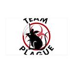Team Plague 38.5 x 24.5 Wall Peel