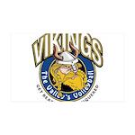 Vikings 38.5 x 24.5 Wall Peel