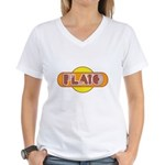 Plato Women's V-Neck T-Shirt