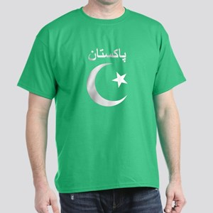 Pakistan Script Dark T-Shirt