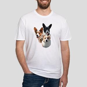Corgi 5 Fitted T-Shirt