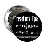 "Riemann Functional Equation 2.25"" Button (100 pack"