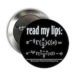 "Riemann Functional Equation 2.25"" Button (10 pack)"