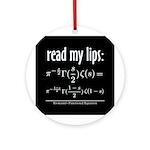 Riemann Functional Equation Ornament (Round)