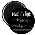Riemann Functional Equation Magnet