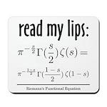 Riemann Functional Equation Mousepad