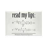 Riemann Functional Equation Rectangle Magnet (100