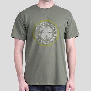 Donovan Irish Drinking Team Dark T-Shirt