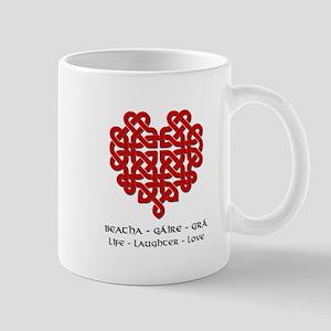 Celtic Heart (Red) Mug