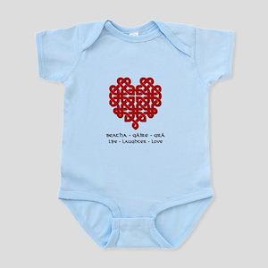 Celtic Heart (Red) Infant Bodysuit