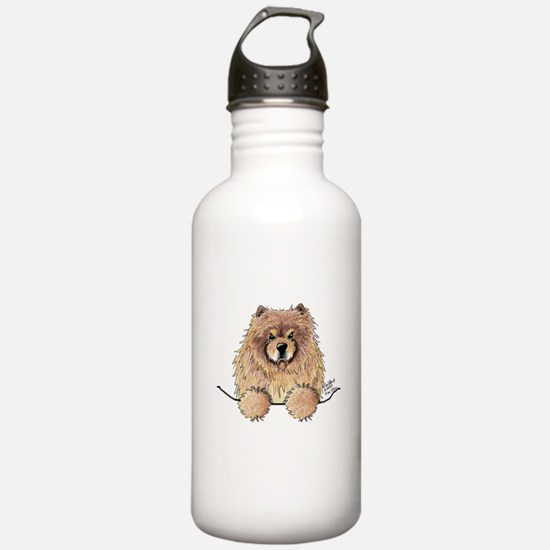 Cinnamon Pocket Chow Water Bottle