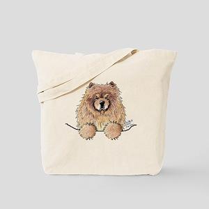 Cinnamon Pocket Chow Tote Bag