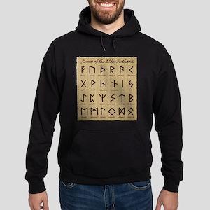 Runes (Parchment) Hoodie (dark)