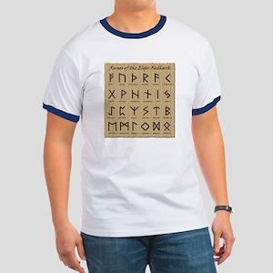 Runes (Parchment) Ringer T