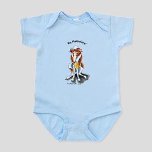 Greyhound Funny Infant Bodysuit