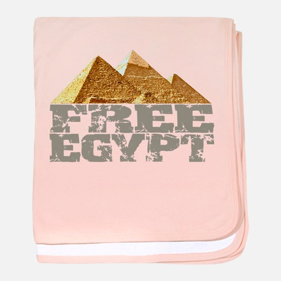 Free Egypt baby blanket
