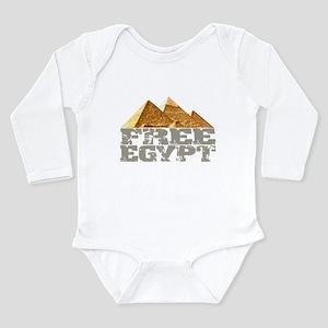 Free Egypt Long Sleeve Infant Bodysuit