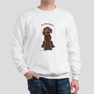 Chocolate Labradoodle Manipulate Sweatshirt