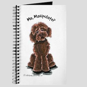 Chocolate Labradoodle Manipulate Journal
