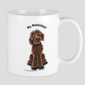 Chocolate Labradoodle Manipulate Mug