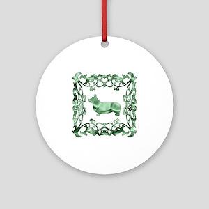 Corgi Ornament (Round)
