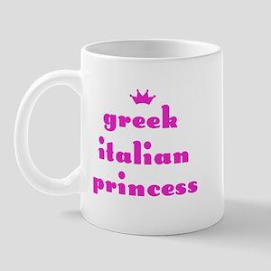 Greek Italian Princess (pink) Mug