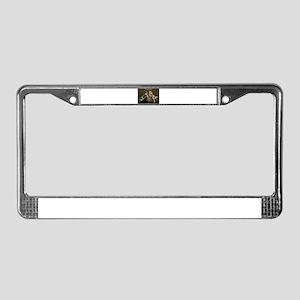 "MotoGirl ""Amy"" License Plate Frame"