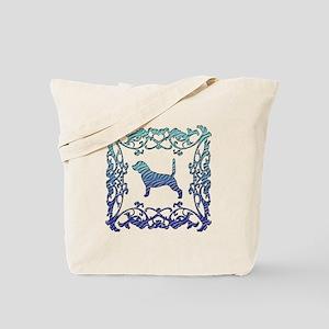 Beagle Lattice Tote Bag