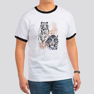 White Tigers Shirts Ringer T