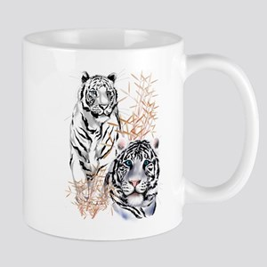 White Tigers Shirts Mug