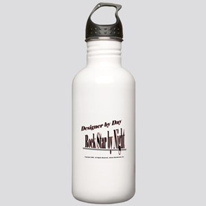 Designer by Day Stainless Water Bottle 1.0L