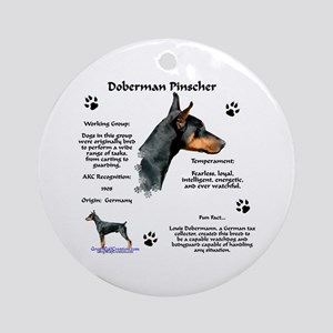 Dobie 1 Ornament (Round)