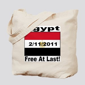 Egypt Free At Last 2/11/2011 Tote Bag