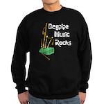 Bagpipe Music Rocks Sweatshirt (dark)