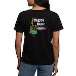 Bagpipe Music Rocks Women's Dark T-Shirt