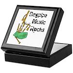 Bagpipe Music Rocks Keepsake Box