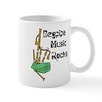 Bagpipe Music Rocks Mug