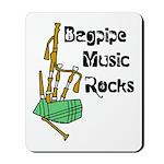 Bagpipe Music Rocks Mousepad