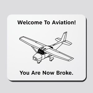 Aviation Broke Style B Mousepad