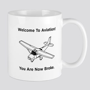 Aviation Broke Style B Mug