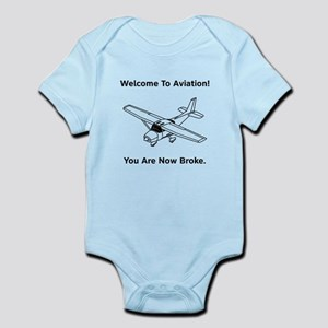 Aviation Broke Style B Infant Bodysuit