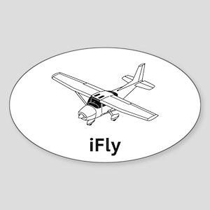 iFly Sticker (Oval)