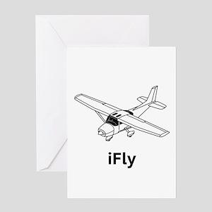 iFly Greeting Card