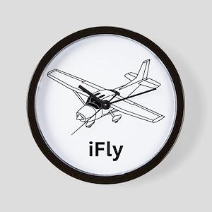 iFly Wall Clock